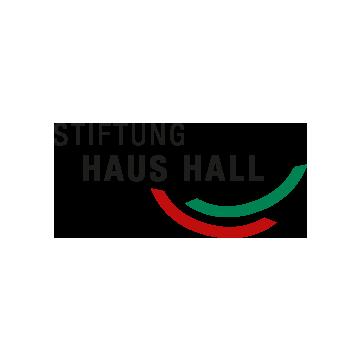 stiftung haus hall logo