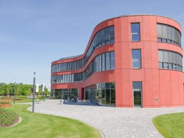 d.velop campus Znetralgebäude