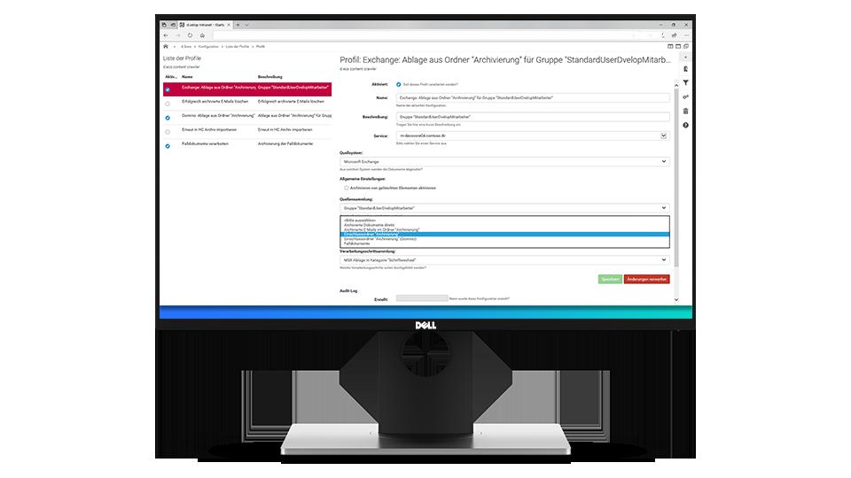 So lässt sich eine Software zur E-Mailarchivierung managen und administrieren