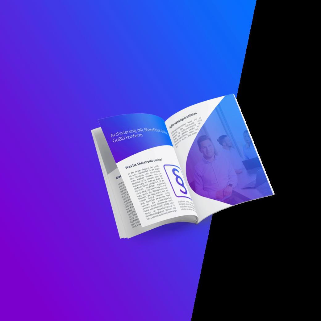 Whitepaper zum Thema GoBD-konforme Archivierung mit SharePoint Online