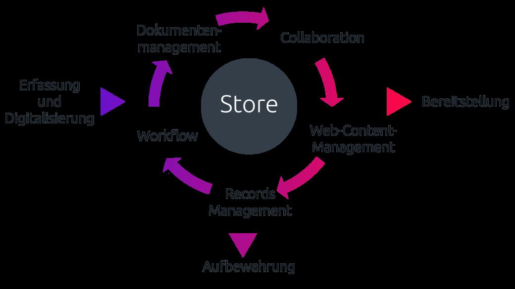 Mit Enterprise Content Management Geschäftsprozesse modellieren