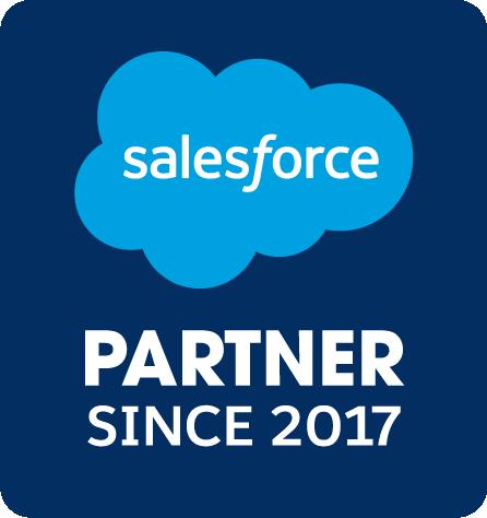 Badge d.velop AG ist Salesforce Partner seit 2017