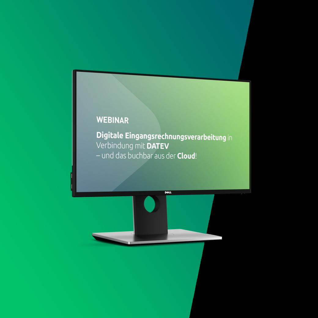 Webinar zum Thema Digitale Rechnungsverarbeitung in DATEV