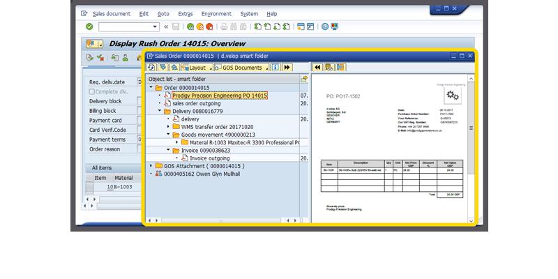 """Smart Folder in SAP"" - Screenshot"