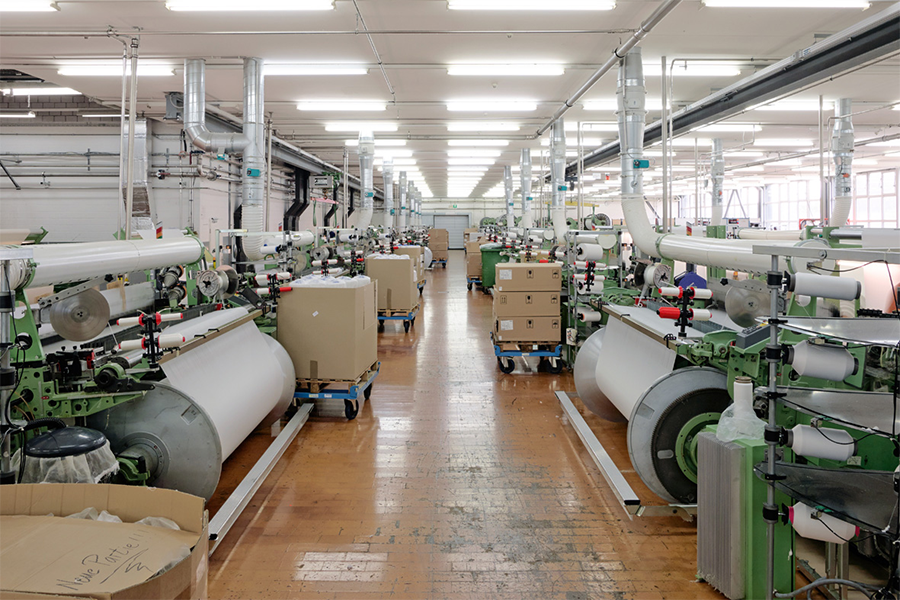 Schoeller Textil AG machine room