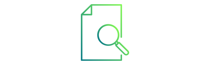Icon document search
