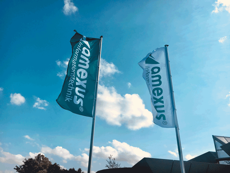 d.velop partner amexus - Office flags
