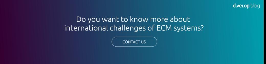 Contact information d.velop international ECM systems