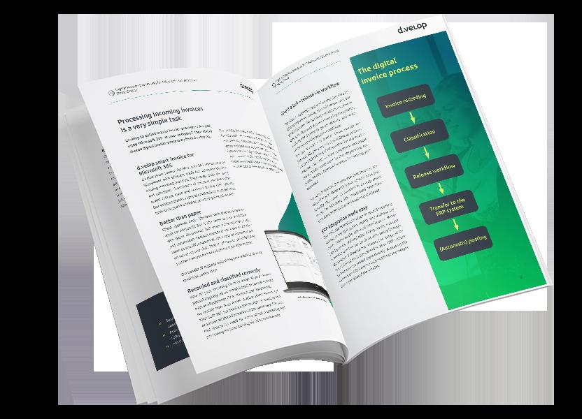 d.velop smart invoice factsheet graphic