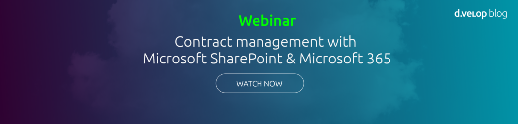 Webinar - Collaborative Contract Management for Microsoft 365